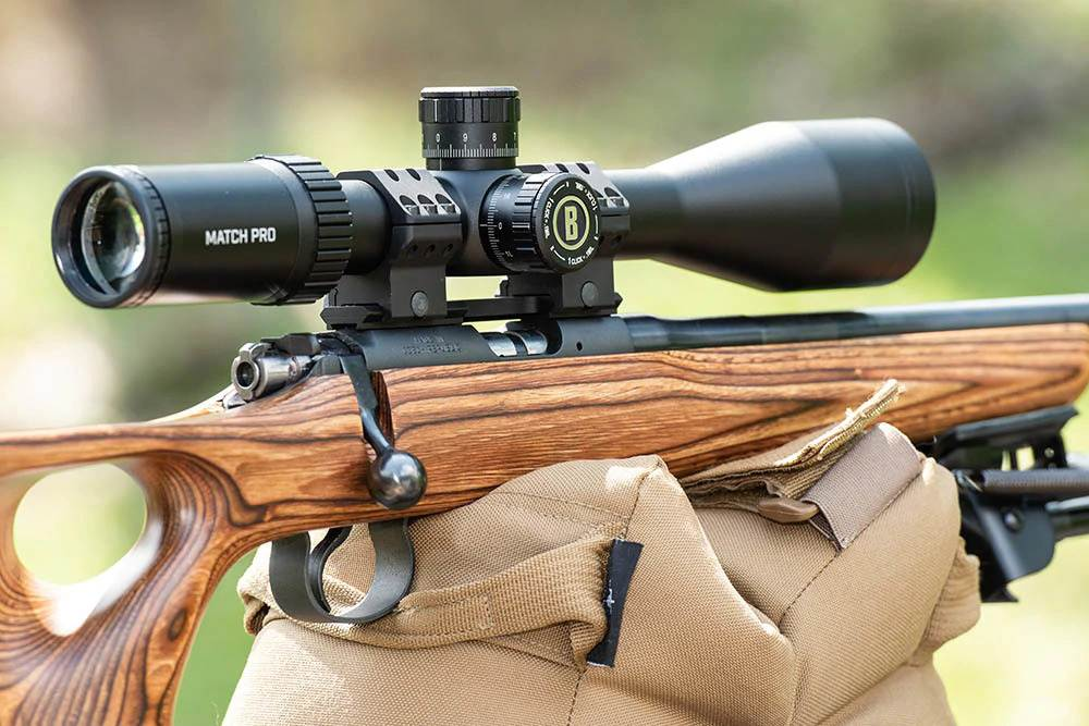 Precision 22LR small-bore rifle shoot